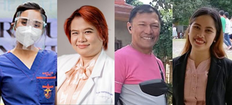 DAVAO. (From left) Hennesey Granados Rubite, Gicelle Rapisura, Oliver Menil and Bianca Allawan. (Contributed photos)