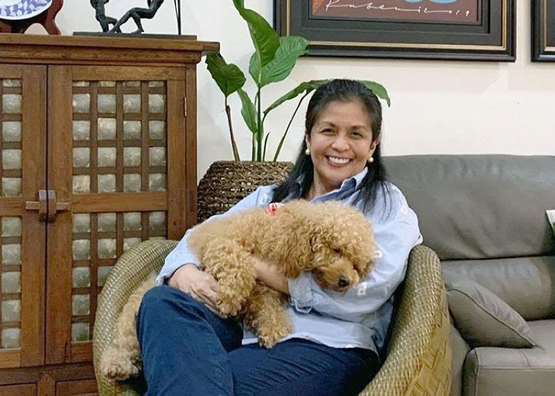 DAVAO. Chari Gavino, homemaker and educator, said her secret to cool and cooling home and school is to keep it clean, tidy, and clutter-free. (Contributed photo)