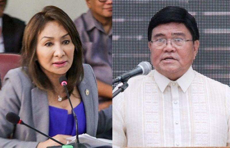 CEBU. Cebu Governor Gwen Garcia and Cebu City Mayor Edgardo Labella. (SunStar File)