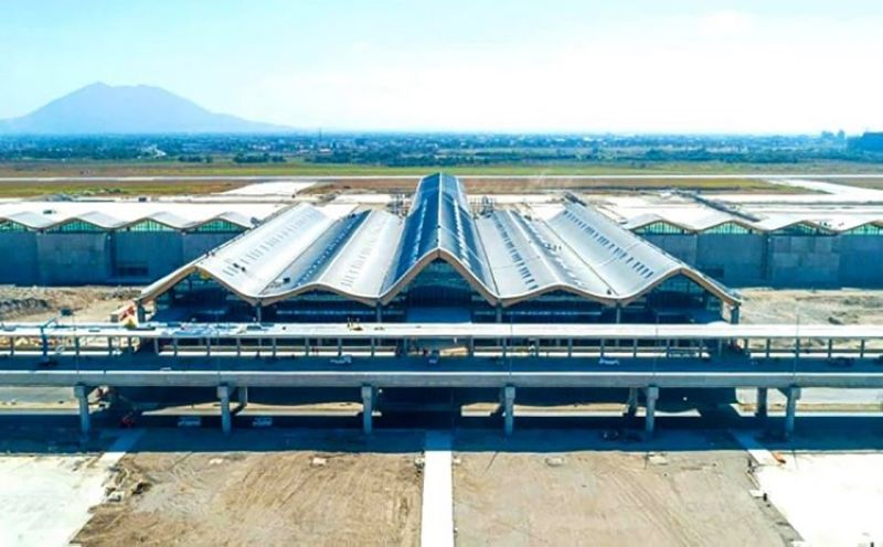 NEW CRK TERMINAL. The new passenger terminal of Clark International Airport is scheduled to start operation by June 11. (DOTr)