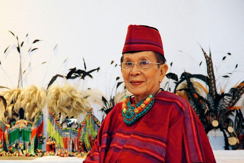 """DAVAO. Alfonso """"Boy"""" Guino-o, Davao and Mindanao's fashion czar. (Photo by Kenneth Hao)"""