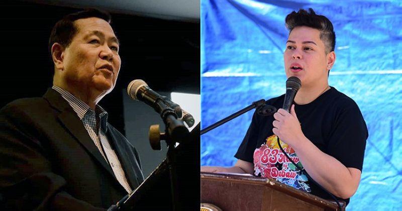 DAVAO. Former Chief Justice Antonio Carpio and Davao City Mayor Sara Duterte-Carpio. (SunStar File)