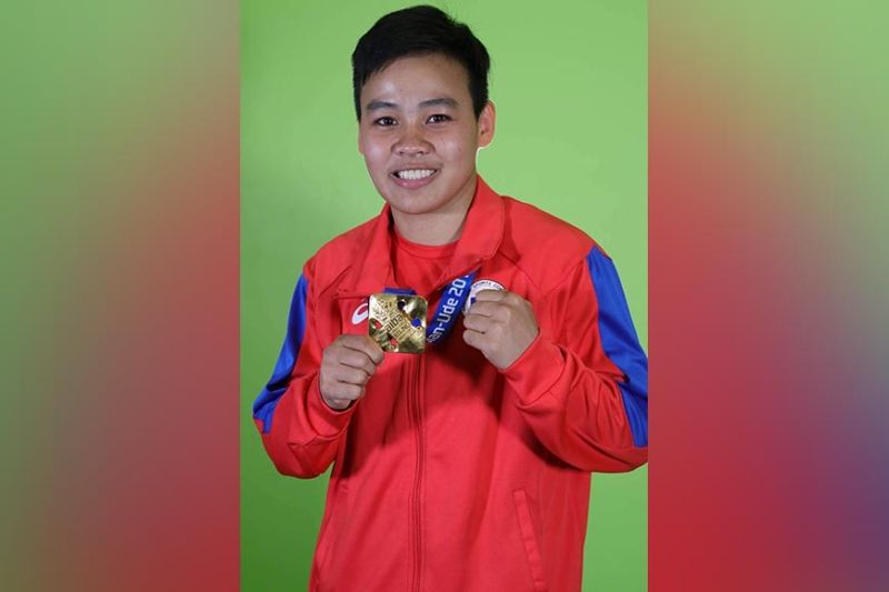 OLYMPIC DREAM. The years of waiting are over as Nesthy Alcayde Petecio, whose amateur boxing career started in Davao City, will make her debut in the upcoming Tokyo Olympics 2021 after the International Olympic Committee-Boxing Task Force confirmed it to the Philippine Olympic Committee on March 19 via email. Petecio has qualified via her current Aiba women's world ranking. (SunStar Davao file/Mark Perandos)