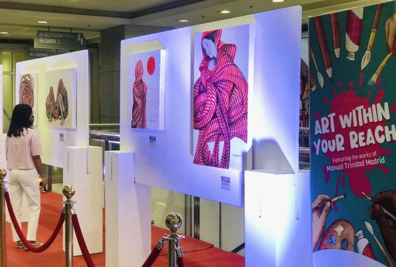 ART WITHIN YOUR REACH. Pampanga's vibrant visual arts will be on display every month at SM City San Fernando Downtown. (Contributed photo)