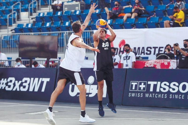 WINNER. After getting a taste of 3x3 basketball at the FIBA level, Cebuano basketball star Macmac Tallo says he can't wait to get another shot at playing on this stage. / Chooks-to-Go