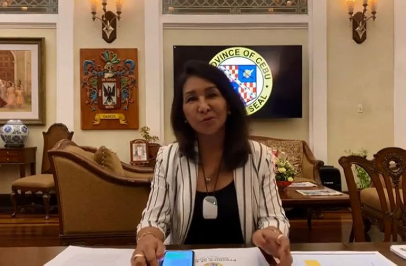 (Screen grab taken from the Cebu Provincial Government's live video )