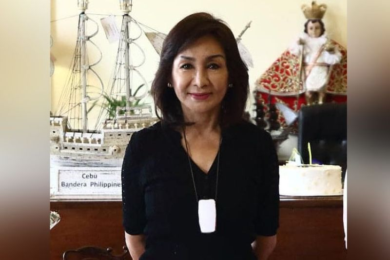 Cebu Governor Gwendolyn Garcia (Hulagway gikan sa Facebook sa Cebu Provincial Government)