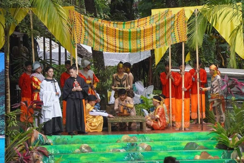 SOUTHERN LEYTE. A Mass was offered Wednesday, March 31, 2021, in celebration of the 500 years of Christianity (#500YOC) and the First Easter Sunday Mass that was held at Limasawa Shrine in Limasawa, Southern Leyte. (Photo from OPAV)