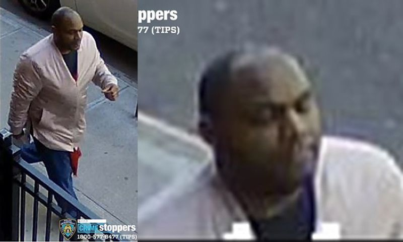 USA. These images taken from surveillance video provided by the New York City Police Department shows Brandon Elliot who assaulted a Filipino woman in New York City on Monday, March 29, 2021. (AP)