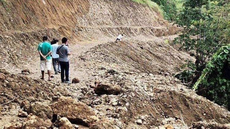 NEGROS. The quarry site in Sitio Mansumbil, Barangay Tagukon, Kabankalan City. (Contributed photo)