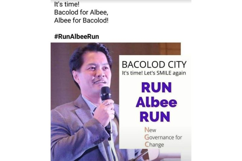 BACOLOD. One of the posters that are making rounds on social media showing