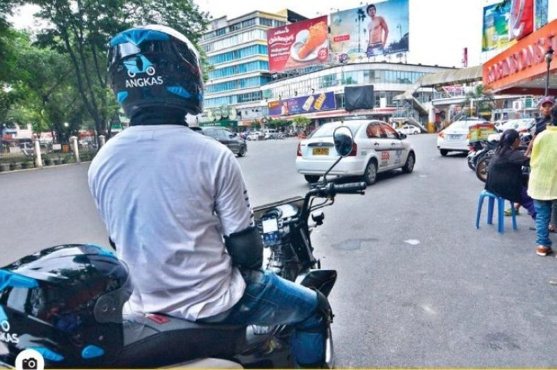 Angkas returns to Cebu. (File photo)