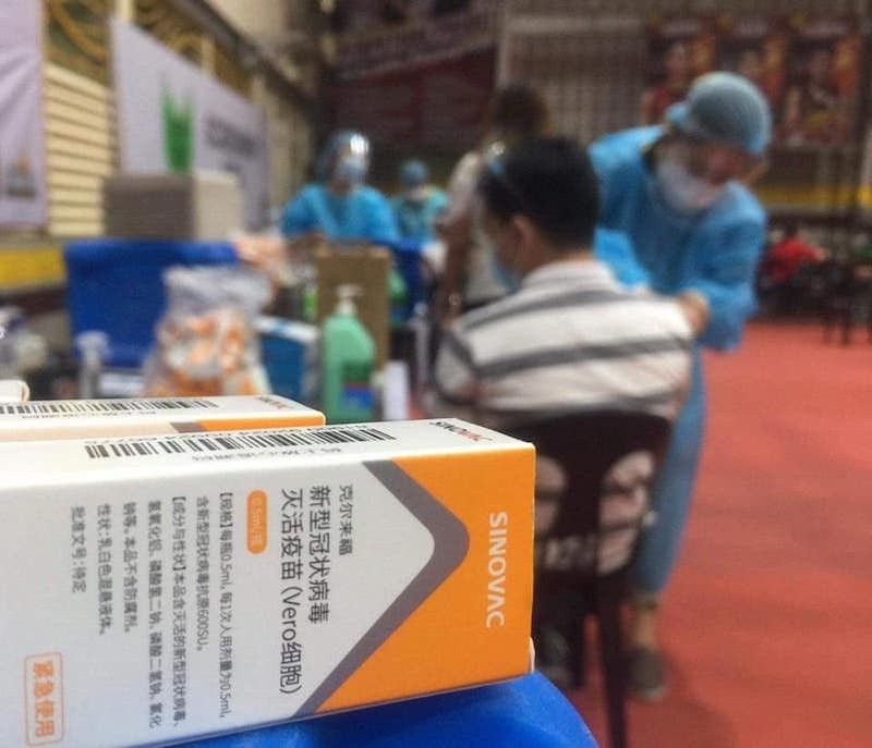 Sinovac vaccine recommended for use in senior citizens - SunStar Philippines