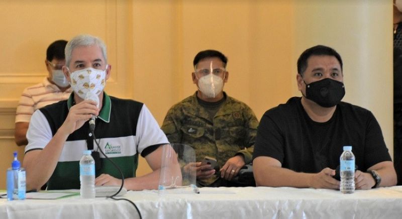 NEGROS.  Negros Occidental officials agree to place the entire province under the stricter general community quarantine due to the surge of Covid-19 cases. (Contributed photo)