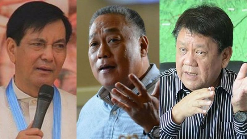 CEBU. (From left) Cebu City Vice Mayor Mike Rama, Cebu Vice Governor Junjun Davide and former Cebu City mayor Tomas Osmeña. (SunStar File)