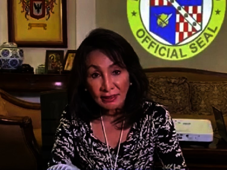 Cebu Governor Gwendolyn Garcia. (File photo: Screenshot from Sugbo News Facebook Live)