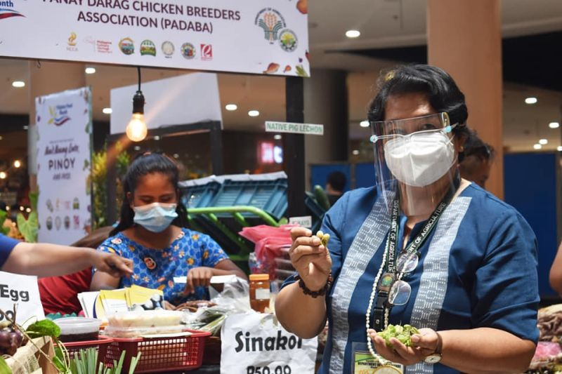 NEGROS. Department of Agriculture-Western Visayas Director Remelyn Recoter during the kick-off celebration of Filipino Food Month in Western Visayas in Iloilo City on Monday, April 12, 2021. (Contributed Photo)