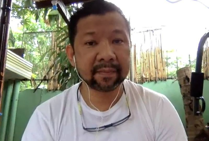 Land Transportation Office (LTO) 7 Regional Director Victor Emmanuel Caindec (File photo: Screenshot from LTO 7 Director Victor Caindec's Facebook live on June 19, 2020)