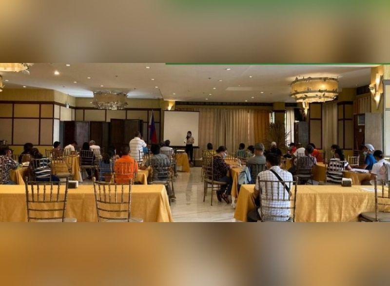 TALISAY. Members of 12 agrarian reform beneficiaries organizations assisted by DAR-Negros Occidental I attend financial education, orientation and seminar at Nature's Village Resort in Talisay City Thursday. (Contributed photo)