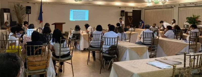 NEGROS. Municipal agrarian reform program officers of DAR-Negros Occidental I attend the orientation and conference on the government's Registry System for Basic Sectors in Agriculture held at the Nature's Village Resort in Talisay City recently. (Contributed photo)