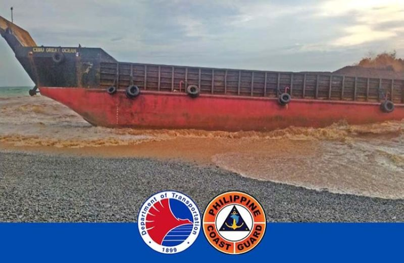 (Photo grabbed from Philippine Coast Guard's Twitter)