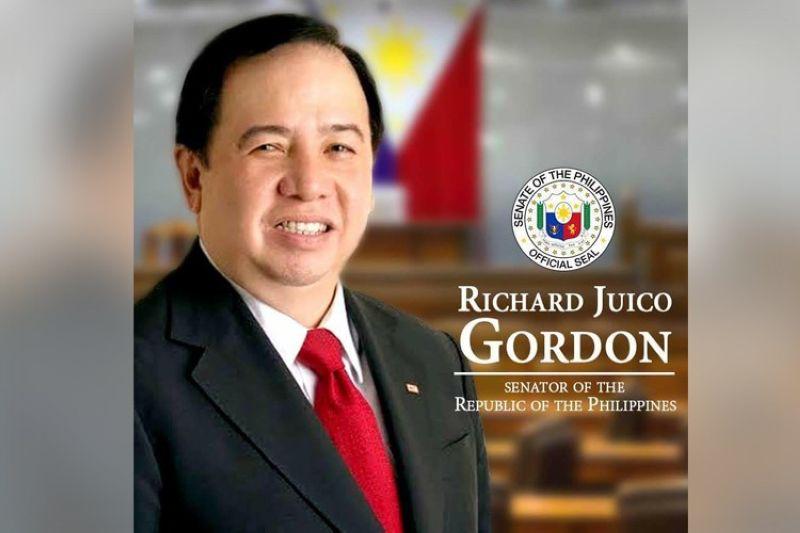 (Photo grabbed from Senator Richard Gordon's Facebook)