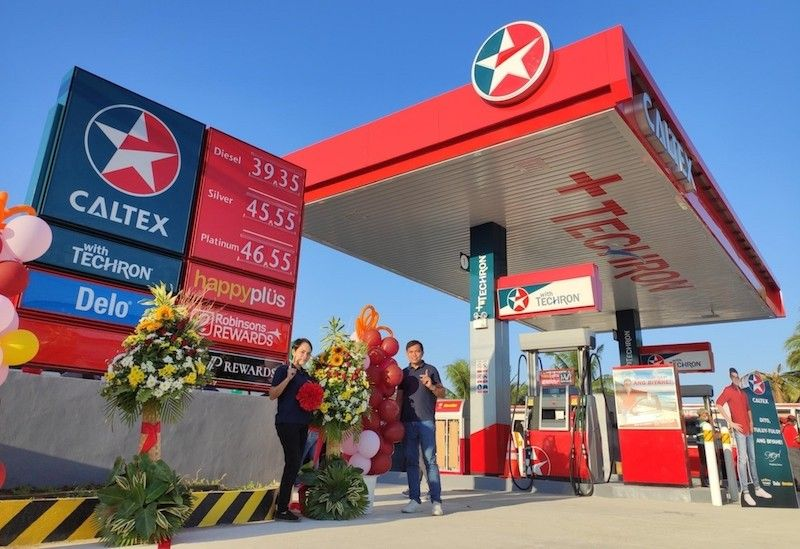 Caltex service station in Brgy. Paras, Candon City, Ilocos Sur (Contributed)
