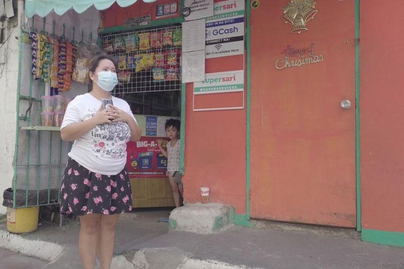SARI-SARI STORE: Si Analyn Virinia ug ang iyang sari-sari store nga dako og abag sa kinitaan sa iyang bana. / Tampo