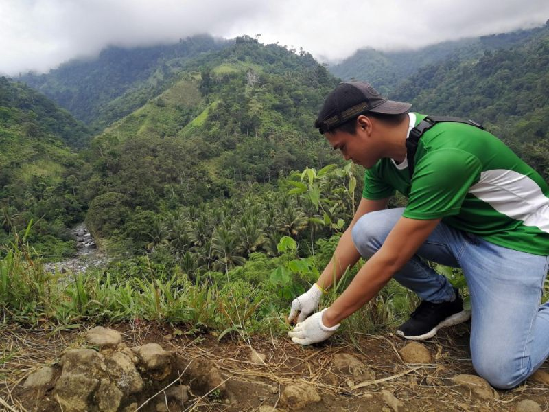 DAVAO. Davao City Water District's Adopt-A-Site Project enables various sectors to contribute in the rehabilitation of the Mt. Talomo-Lipadas, Malagos, and Mt. Tipolog-Tamugan watersheds, the last being Davao City's next water source. (Apo Agua)