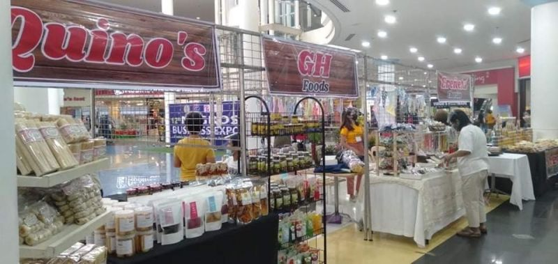 NEGROS. The ongoing 12th Negros Business Expo at the Robinsons Place Bacolod, which will run until May 2, 2021. (Contributed Photo)