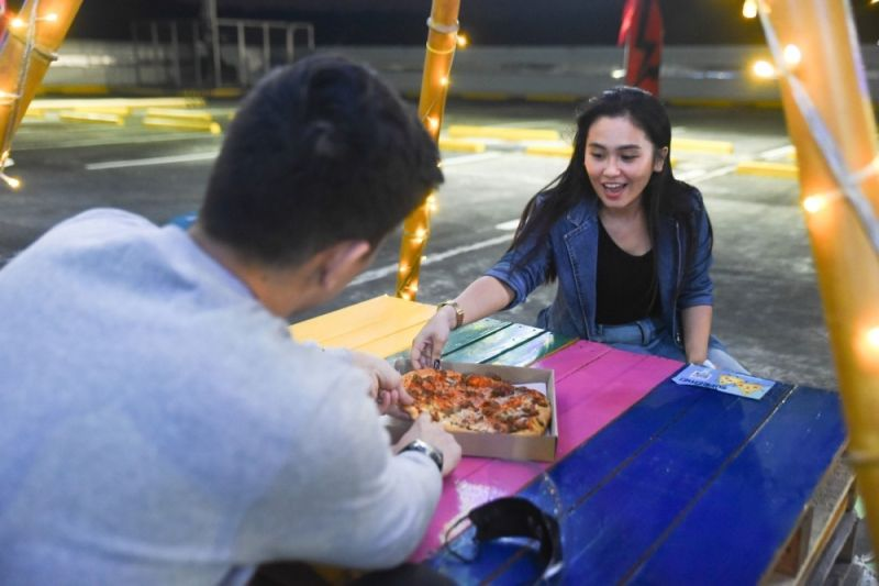 OUTDOOR DINING. With the launch of Paw Park and Outdoor Dining, SM aims to bring good vibes and entertain customers in a most safe and convenient way. (Contributed photo)