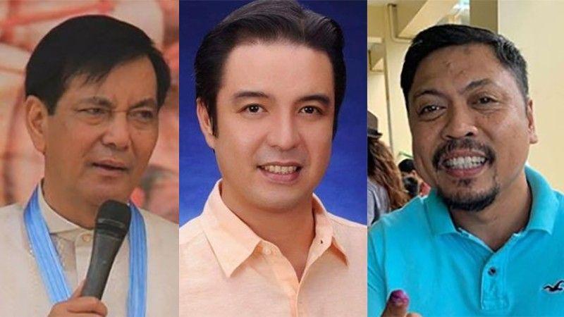 CEBU. (From left) Cebu City Vice Mayor Mike Rama and Councilors Edu Rama and Philip Zafra. (SunStar File)