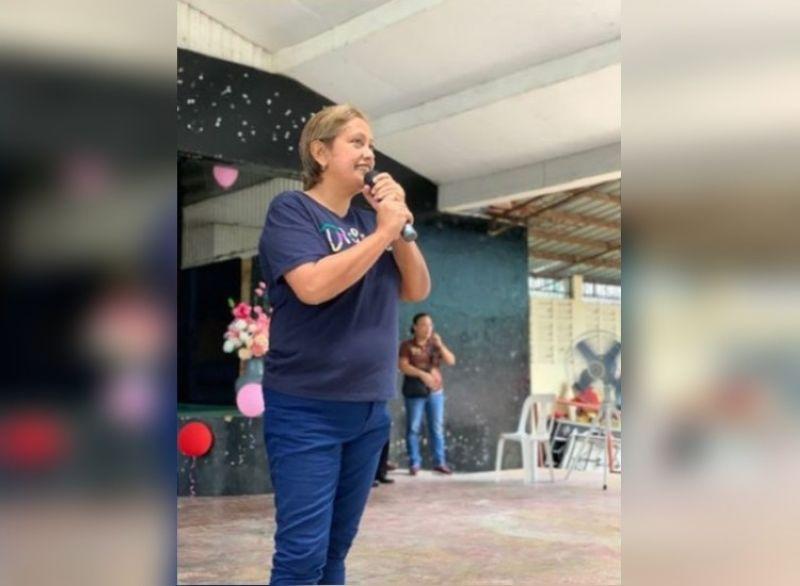 MOISES PADILLA. Mayor Ella Garcia-Yulo. (File photo)