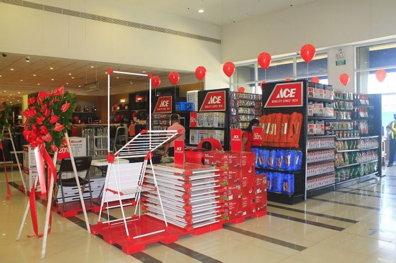 CAGAYAN DE ORO. Ace Hardware Express is located inside the SM Store, near Counter 8, of SM City Cagayan de Oro. (Photo by Jo Ann Sablad)