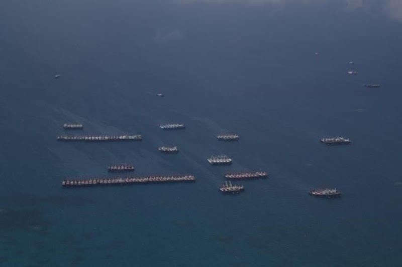 Chinese vessels spotted in West Philippine Sea (From AFP)