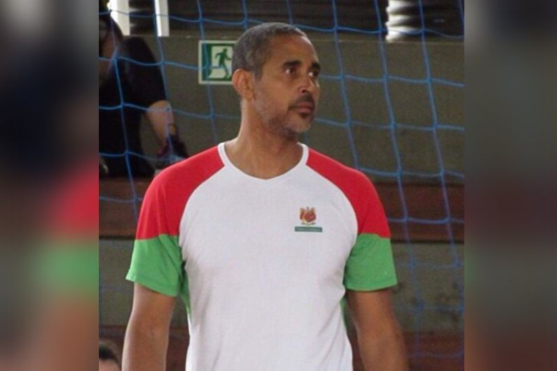 Brazilian volleyball star Souza de Brito has been selected to coach the national women's volleyball team. (PNVF)