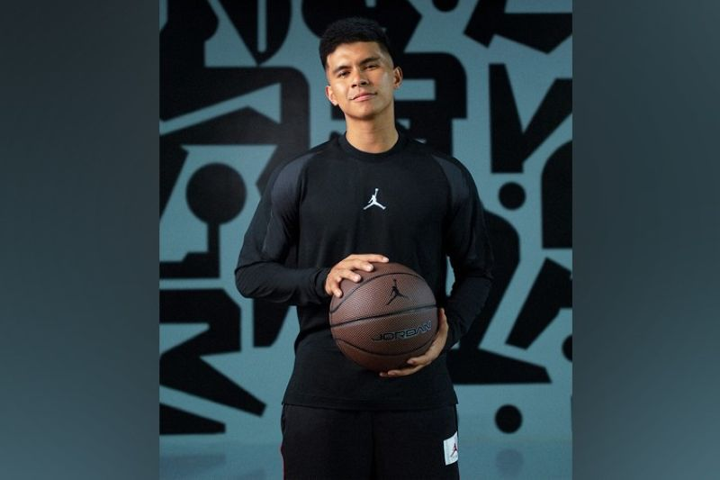 NLEX star Kiefer Ravena becomes the very first Filipino athlete to be named to the elite Jordan Brand. (Nike Philippines)