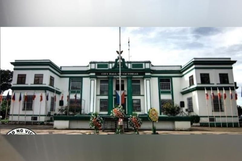 NEGROS. Victorias City Hall is on lockdown until May 7, 2021 for disinfection after 35 of its employees tested positive for coronavirus. (Contributed Photo)
