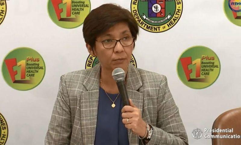 MANILA. Department of Health (DOH) Undersecretary Maria Rosario Vergeire. (File)