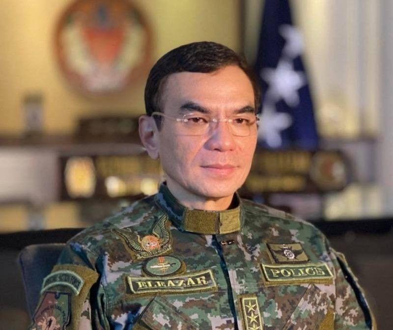 New PNP Chief Guillermo Eleazar (Contributed via Third Anne Peralta-Malonzo)