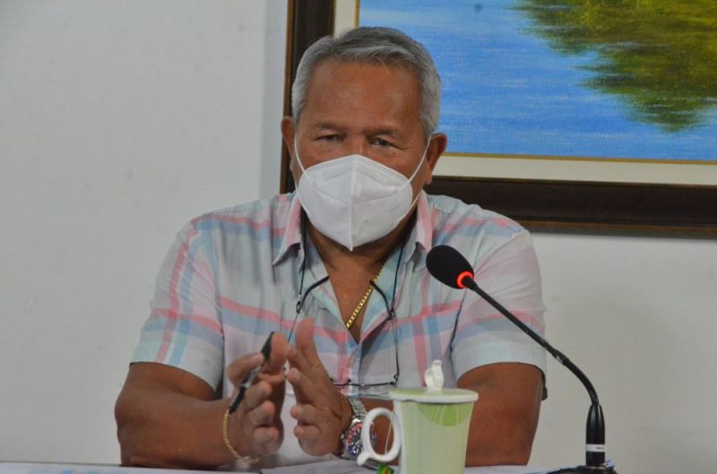 CAGAYAN DE ORO. There will be no lockdown in Cagayan de Oro despite the rise in coronavirus infections, Mayor Oscar Moreno reiterated on Wednesday, May 5, 2021. (Photo by City Information Office)