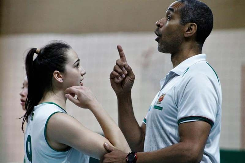 COACHING. Brazilian coach Jorge Edson Souza de Brito is eager to work with the women's national volleyball team. / PNVF