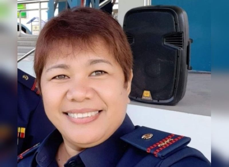 BACOLOD. Police Lieutenant Ma. Liberty Indiape, spokesperson of BCPO. (File photo)