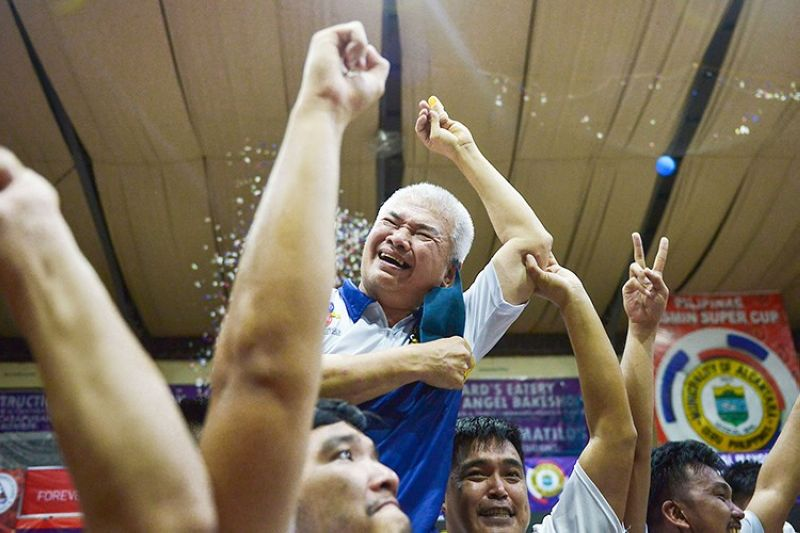 KCS-Mandaue head coach Mike Reyes said this latest title upholds the tried and tested theme that defense wins championships. (VisMin Cup)