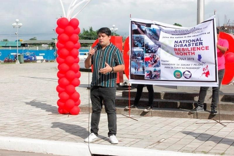 BACOLOD. Bacolod City Councilor Israel Salanga, chairman of the Action Team on Returning OFWs. (Contributed photo)