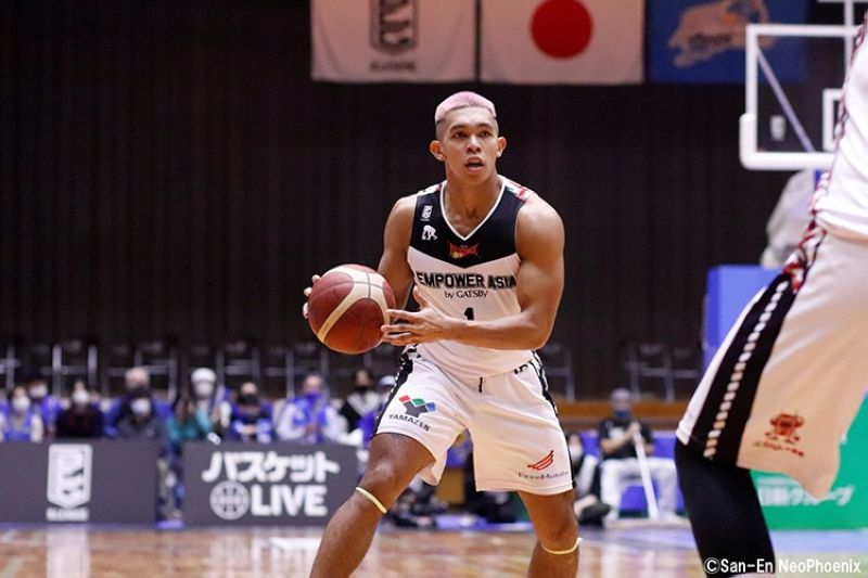 Former Ateneo Blue Eagles star Thirdy Ravena is staying in Japan after he signed a multi-year deal with the San-En NeoPhoenix. (San-En NeoPhoenix Facebook page)