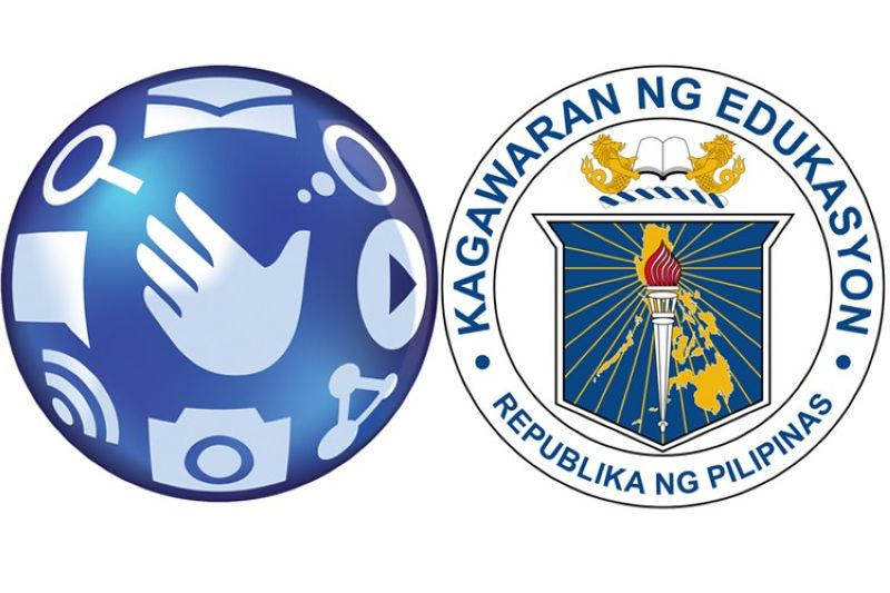 (Logo from Globe, and Department of Education's Facebook)
