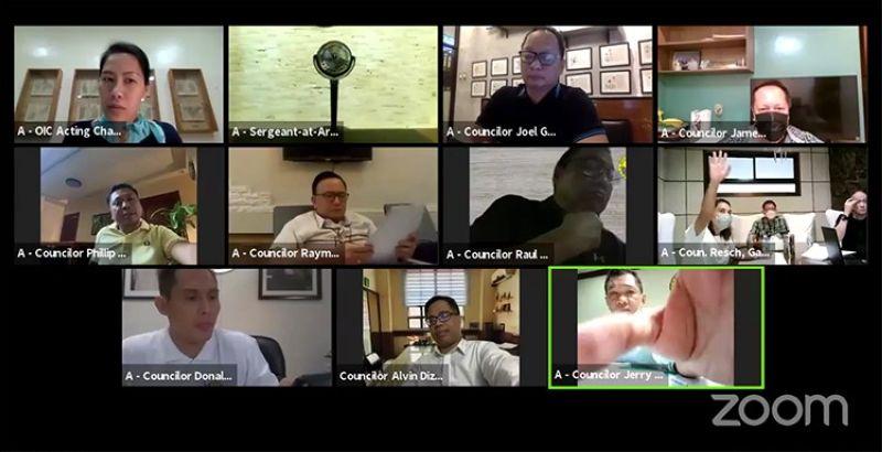 Screenshot from Sangguniang Panlungsod Secretariat's Facebook page