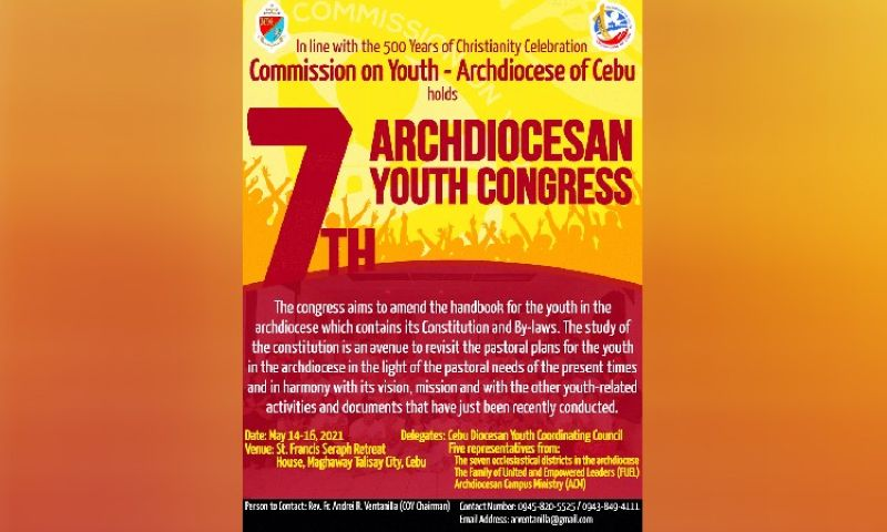Photo from Cebu Archdiocesan Commission on Youth