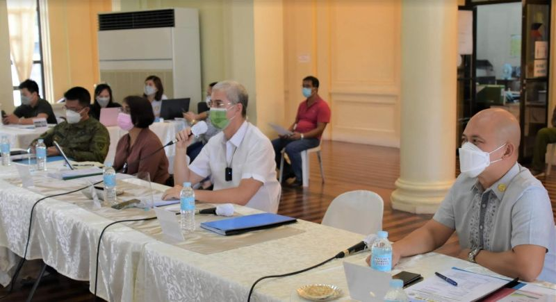 NEGROS. The 2nd Quarter Joint PPOC-Padac face-to-face meeting at Capitol Social Hall Wednesday, May 12. (Richard Malihan photo)